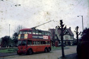 Number 1483 at Tolworth Red Lion, May 1962