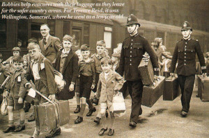 Day return of an evacuee