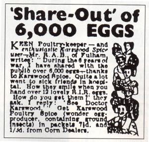 Remember Karswood Poultry Spice?