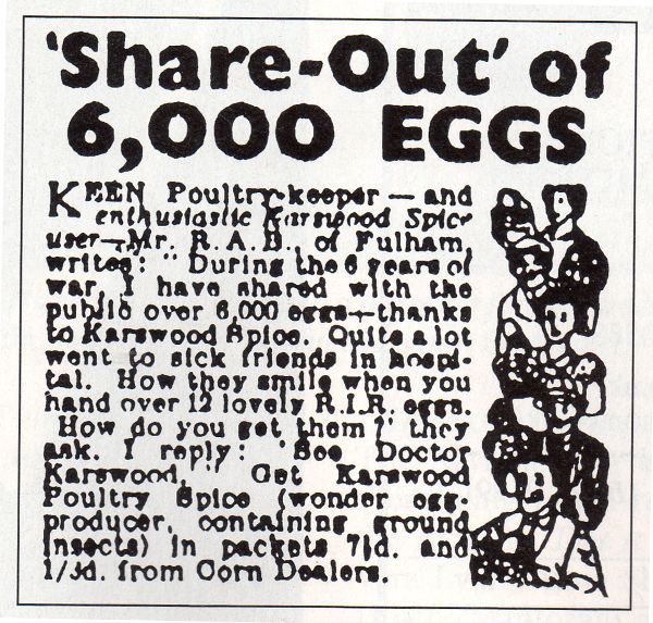 Remember Karswood Poultry Spice?