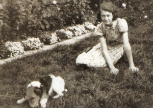 On her 12th birthday the writer was given a little dog, Pat, which led to a change of address to Cool Oak Lane, Hendon. She lost several friends in a mysterious huge wartime explosion.
