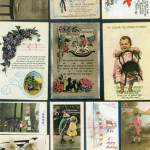 A superb selection of birthday cards from the 1917- 1921 period sent by Dr. Hawkins.
