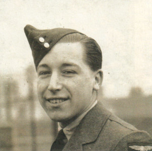 Joe Moore in his RAF days, two years after his experiences aboard the Nea Hellas.