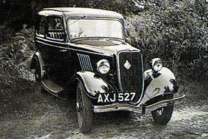The once-ubiquitous Ford Model Y, a popular pre-war choice which changed hands frequently in the austere immediate post-war years