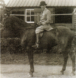 V. Berwyn Jones on Rathmore at Wonersh in 1934.