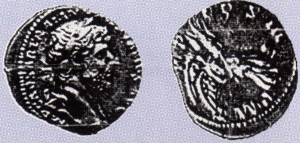 A Silver Denarius!
