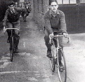Still cycling in 1948...