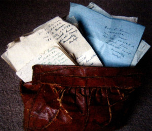 The letters were found in a handbag following Patrick's death.