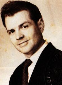 Patrick Raven as a young man.