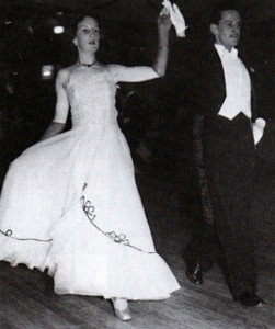 Keith and Margaret perform the Military Two-Step in 1950.