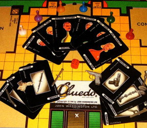 The yuletide board…